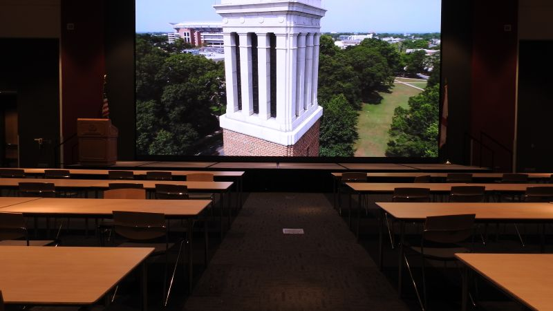 New 4k Video Wall at Sellers Auditorium in Action