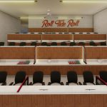 Bryant-Denny Stadium Renovation and Addition architectural rendering 2019-0502 Loge View 2