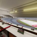 Bryant-Denny Stadium Renovation and Addition architectural rendering 2019-0502 Loge View 3