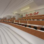 Bryant-Denny Stadium Renovation and Addition architectural rendering 2019-0502 Loge View 4