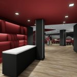 Bryant-Denny Stadium Renovation and Addition architectural rendering 2019-0502 NFC View 1