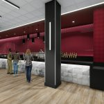 Bryant-Denny Stadium Renovation and Addition architectural rendering 2019-0502 NFC View 4