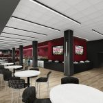 Bryant-Denny Stadium Renovation and Addition architectural rendering 2019-0502 NFC View 5