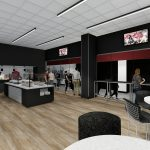 Bryant-Denny Stadium Renovation and Addition architectural rendering 2019-0502 NFC View 6