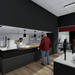 Bryant-Denny Stadium Renovation and Addition architectural rendering 2019-0502 NFC View 8