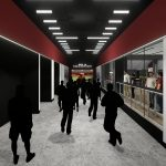 Bryant-Denny Stadium Renovation and Addition architectural rendering 2019-0502 NFC View 9