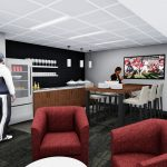 Bryant-Denny Stadium Renovation and Addition architectural rendering 2019-0502 Standard Suite