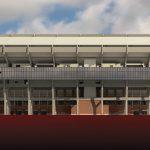 West Elevation of Bryant Denny Stadium