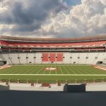 Northeast View of the bowl at Bryant Denny Stadium