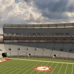 View of the Southwest Bowl at Bryant-Denny Stadium