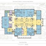 Hewson Hall First Floor Plan architectural drawing