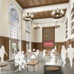 Hewson Hall Interior Quiet Study architectural rendering