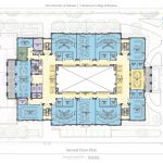 Hewson Hall Second Floor Plan architectural drawing