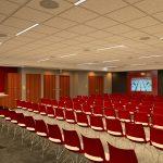 Aquatic Center Renovation architectural rendering Team Meeting Room