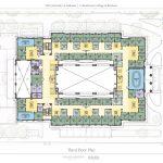 Hewson Hall Third Floor Plan architectural drawing
