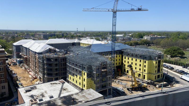 New Tutwiler Residence Hall Progress Photos