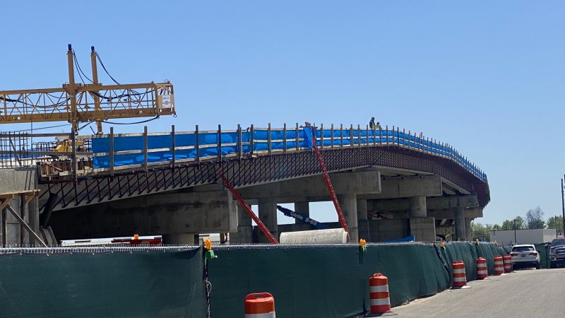 2nd Avenue Overpass Progress Photos