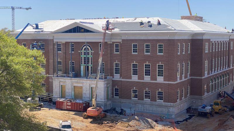 Hewson Hall Progress Photos
